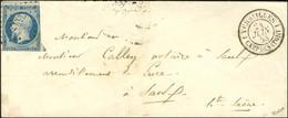 PC 3537 / N° 10 (leg Def) Càd 1 VERSAILLES 1 / CAMP DE SATORY 24 JUIN 53. Première Date Vue. - TB / SUP. - RRR. - 1852 Louis-Napoleon