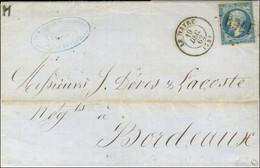 GC 1769 / N° 14 Belles Marges Càd T 15 LE HAVRE (74) 19 DEC. 62. Premier Jour Connu Du GC En Métropole. - SUP. - R. - 1853-1860 Napoleon III