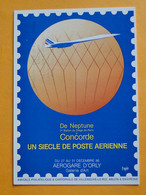 Concorde - ORLY - VILENEUVE Le ROI - ABLON -- De Neptune (1er Ballon Siège Paris) à Concorde - Déc. 1986 - 1946-....: Era Moderna