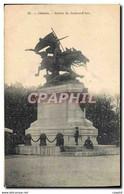 """CPA Chinon Statue De Jeanne D'Arc"""" - Chinon"""