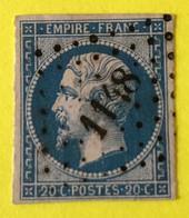 YT 14B - TB -  Belles Marges - Planché Panneau A1 Position 44 - 1853-1860 Napoleon III
