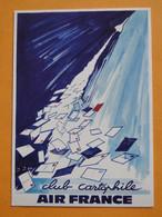 Concorde - Club Cartophile Du Comité D'Etablissement Air-France Paris - Illustrateur Joseph De Joux 1987 - 1946-....: Era Moderna