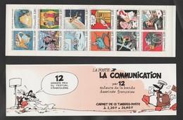 "FRANCE / 1988 / Y&T N° 2503/2514 ** En BC Ou BC2515 ** (Bande-carnet ""Communication En BD"") X 1 - Commemoratives"