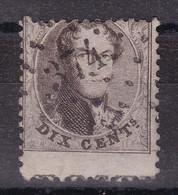 Belgique - COB 14 Avec POSTE Dans La Marge Inférieure - Obl. Losange à Points 374 Verviers - 1863-1864 Medaillen (13/16)