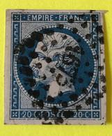YT 14B - TtB -  Belles Marges - Planché Panneau A1 Position 59 - 1853-1860 Napoleon III