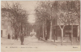 23 AUBAGNE. - Avenue De La Gare. - Aubagne