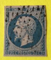 YT 14B - TB -  Belles Marges - Planché Panneau A1 Position 74 - 1853-1860 Napoleon III
