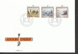 Liechtenstein FDC  821-823   Katalog 3,50 - Gebraucht