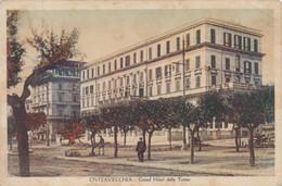 1929 Civitavecchia, Grand Hotel, Cartolina Viaggiata. - Unclassified