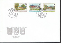 Liechtenstein FDC  1192-1194 Dorfansichten    Katalog 5,00 - FDC