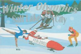 Great Britain 2002 Postcard Salt Lake Olympic Games - Mint (G129-25) - Winter 2002: Salt Lake City