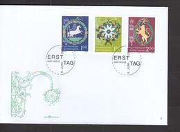 Liechtenstein FDC   1377-1379 Gasthaus Schilder     Katalog  10,00 - FDC