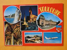 Concorde -- TOULOUSE -- Carte Multivues Dont Concorde & Airbus - 1946-....: Era Moderna