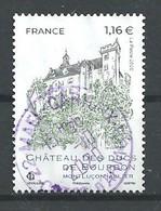 FRANCIA 2020 - Château Des Ducs De Bourbon - Cachet Rond - Gebraucht