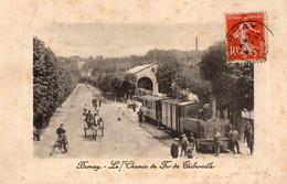 BERNAY  Le Chemin De Fer De Thiberville - Bernay