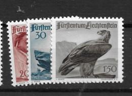 1947 MNH Liechtenstein Mi 253-55 Postfris** - Ungebraucht