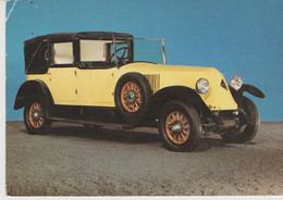 AUTOMOBILE - VOITURE -  RENAULT  F  COUPE CHAUFFEUR 1925 - Passenger Cars