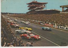 SPORT AUTOMOBILE - VOITURE -  24 H DU MANS -1972  - LE DEMARRAGE DES VOITURES - Le Mans