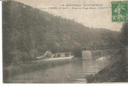 CAUREL. Ecluse Du Vieux Moulin. Canal De Nantes à Brest. - Caurel