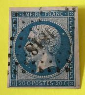 YT 14B - TB Belles Marges - Planché Panneau A1 Position 115 - 1853-1860 Napoleon III