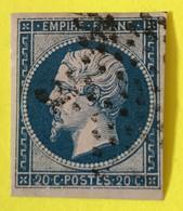 YT 14B - TB Belles Marges - Planché Panneau A1 Position 126 - 1853-1860 Napoleon III