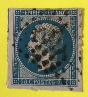 YT 14B - TB Belles Marges - Planché Panneau A1 Position 133 - 1853-1860 Napoleon III
