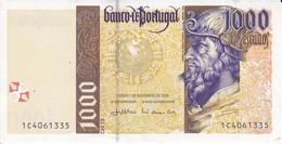 BILLETE DE PORTUGAL DE 1000 ESCUDOS DEL AÑO 2000 EN CALIDAD EBC (XF) (BANKNOTE-BANK NOTE) - Portugal
