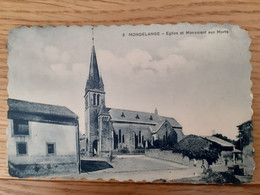 Mondelange,  église Et Monument Aux Morts, Moselle, 57 - Andere Gemeenten