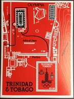 Trinidad & Tobago 1980 Olympic Games Minisheet MNH - Trinité & Tobago (1962-...)