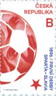 Tsjechië / Czech Republic - Postfris / MNH - Complete Set Derby Sparta - Slavia Praag 2021 - Unused Stamps