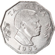 Monnaie, Tanzania, 5 Shilingi, 1993, SPL, Nickel Clad Steel, KM:23a.2 - Tanzania