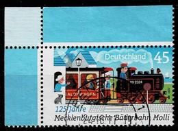 Bund 2011,Michel# 2872 O Mecklenburgische Bäderbahn Molli - Usados