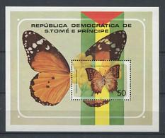 299 SAINT THOMAS 1979 - Yvert BF 9 - Papillon - Neuf ** (MNH) Sans Charniere - Sao Tome And Principe