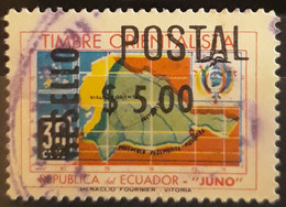 "ECUADOR 1969 Overprinted ""RESELLO"" And Surcharged. USADO - USED. - Ecuador"