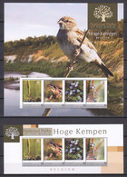 St Vincent Grenadines (Young Island) - MNH Set (1) Of 2 Sheets - NATIONAL PARKS BELGIUM - BIRD - DRAGON FLY - FROG - Moineaux