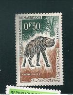 N° 165 Hyène Rayée (offert Avec Toute Commande Pli ) Timbre Mauritanie (1963) Neuf - Mauritania (1960-...)