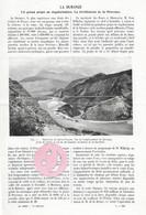 ARTICLE 1913 Barrage De Serre-ponçon Durance Hautes-Alpes 05 4,5 Pages - Documenti Storici