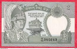 Népal --2 Rupees --1981----UNC---(63) - Nepal