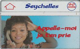 SEYCHELLES.  Appelle-moi, Je T'en Prie (109C). 1991-09. 8000 Ex. SEY-15. (004). - Seychellen