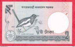 Bangladesh --2 Taka----2007---UNC--(65) - Bangladesh