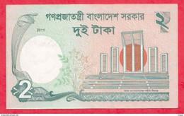 Bangladesh --2 Taka----2011---UNC--(66) - Bangladesh