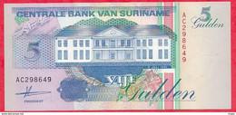 Surinam 1 Billet De  5 Gulden Du 09/07/1991 En UNC ---(71) - Surinam