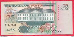 Surinam 1 Billet De  25 Gulden Du 01/12/1996 En UNC ---(72) - Surinam