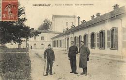 Castelaudary Hopital St François Cour De  L' Infirmerie RV - Castelnaudary