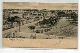 ANTILLES CURACAO  Carte Rare   Scharrloo  Place Quartier VIlle    D07 2021 - Curaçao