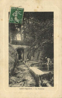 SAINT FERREOL  La Fontaine  Animée Recto Verso - Saint Ferreol