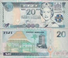 Fiji 2002 - 20 Dollars - Pick 107 UNC - Fiji