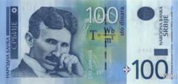 Serbie 100 Dinara (P49) 2013 -UNC- - Serbia