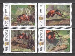 Tuvalu - MNH Set RED WOOD ANT - Otros