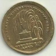 Token 1817 Morte De H.R.H A Princesa Charlotte (Kempson & Son) Inglaterra - Foreign Trade, Essays, Countermarks & Overstrikes